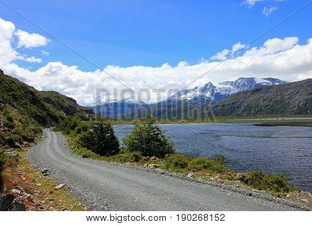 Carretera Austral highway, ruta 7 Patagonia Chile