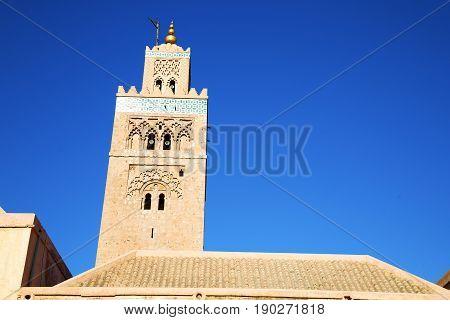Histor Maroc Africa  Minaret Religion  The Blue     Sky