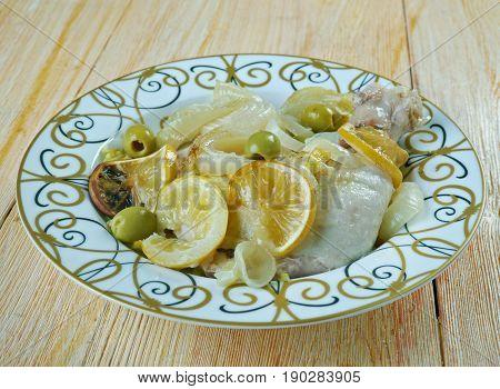Saudi Arabian Lemon Chicken