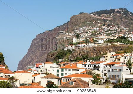 Camara de Lobos - traditional fishing village situated five kilometres from Funchal on Madeira. Portugal