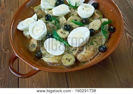 Brazilian Salt Cod With Eggs