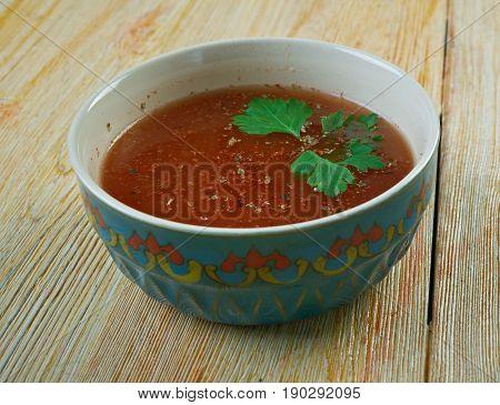 Sherba  - Lamb  Tomato Soup