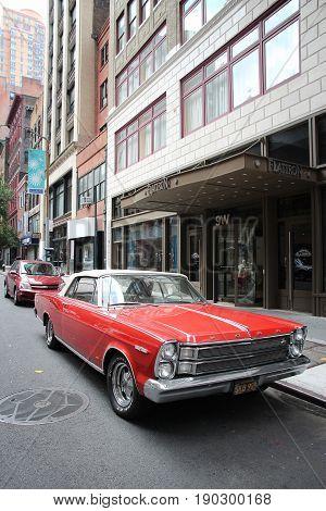 American Oldtimer Car