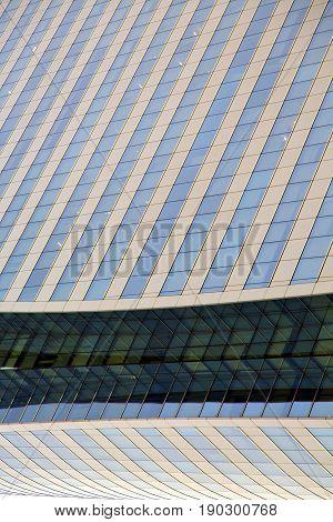 Bangkok  Thailand Reflex Of Some Gray  Terrace  The Centre