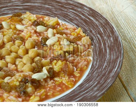 Egyptian Rice With Nuts