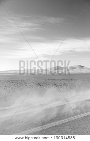 In Oman Old Desert Rub Al Khali The Dust Storm