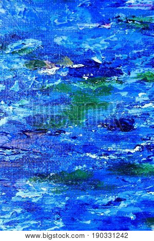 Blue White and Green Paint Textures 6