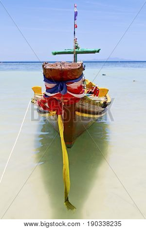 Prow Thailand    Kho Tao Bay    And