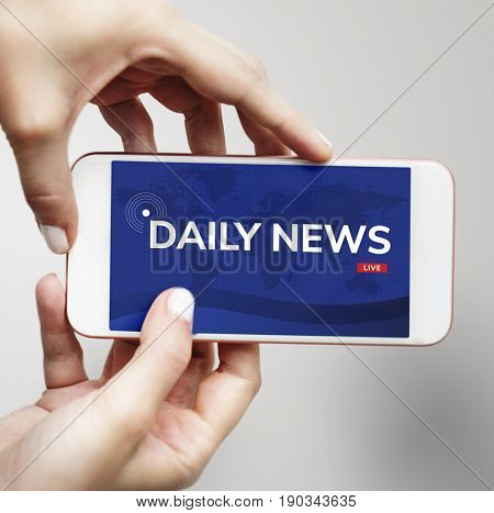 Daily news for update information announcement