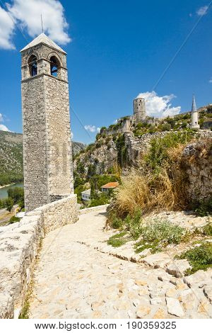 Pocitelj beauty town in Bosnia and Herzegovina. Balkans.