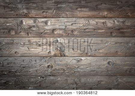 Wood brown plank texture background. Rustic surface