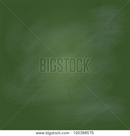 Blank Green board, greenboard, chalkboard with no wood frame, empty chalkboard - vector illustration