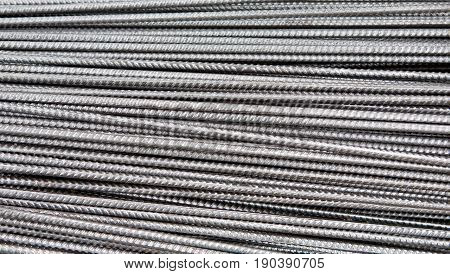 background - pattern of steel sprits - gray silver tone metal texture