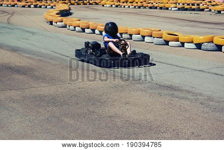 Karting Race Rushing Kart