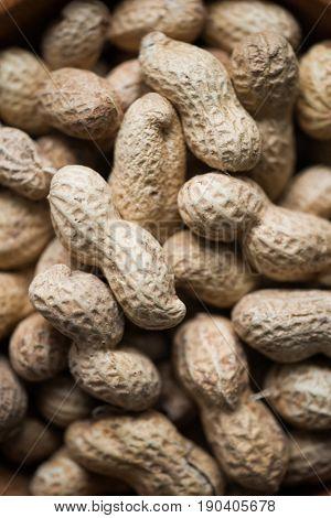 Peanuts, close-up view