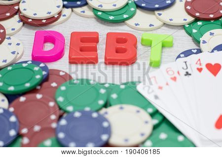 Losing Poker Hand Resulting In Gambling Debt