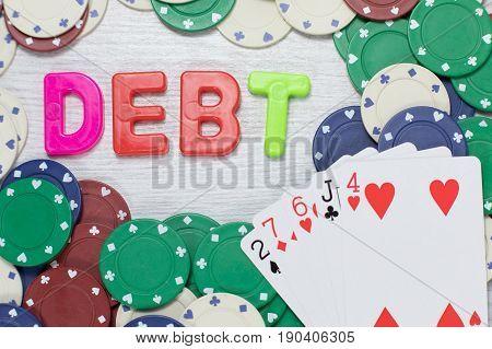 Gambling Debts Following A Losing Streak