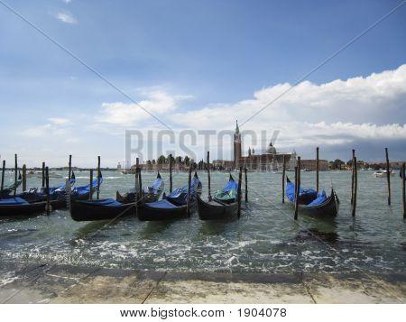 Gondolas In Venice (2)