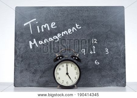 Time Management And Efficiency Concept