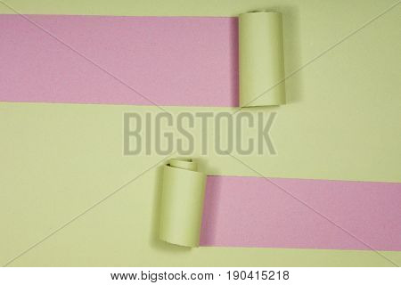 Abstract Creative Pattern Of Colored Paper