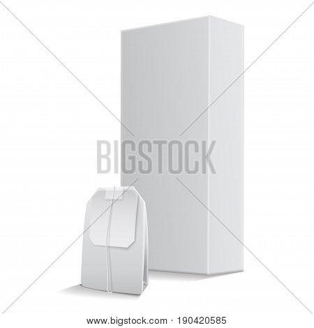 Rectangular Tea Box Vector & Photo (Free Trial) | Bigstock