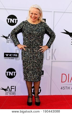 LOS ANGELES - JUN 8:  Jacki Weaver at the American Film Institute's Lifetime Achievement Award to Diane Keaton at the Dolby Theater on June 8, 2017 in Los Angeles, CA