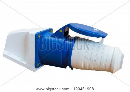 industrial plugs and sockets for electric high voltage