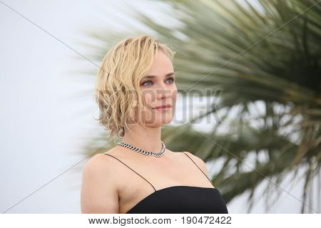 Diane Kruger attends the 'In The Fade (Aus Dem Nichts)' photocall during the 70th annual Cannes Film Festival at Palais des Festivals on May 26, 2017 in Cannes, France.