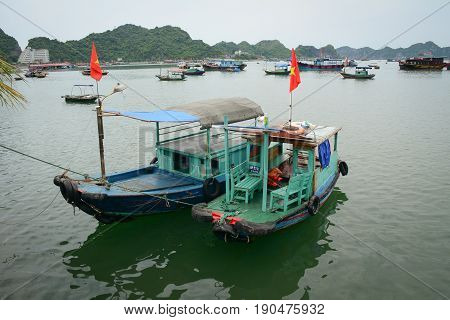 Seascape Of Cat Ba Island In Haiphong, Vietnam
