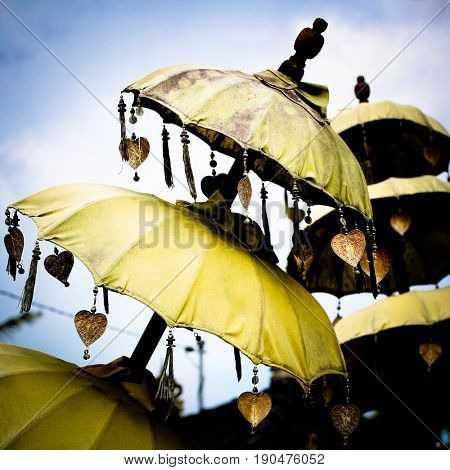 Decorative Umbrellas in Bali