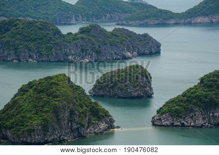 Landscape Of Cat Ba Island In North Of Vietnam