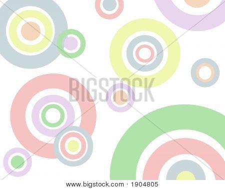 Pastel Circles Background Image