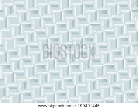 Seamless Light pattern with white relief ornate