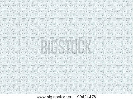 Light pattern with white relief ornate. white background.