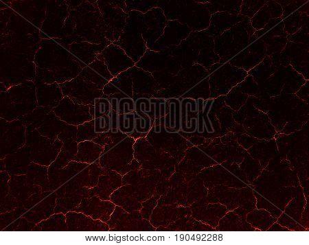 Lava crack ground mud textured background. Dark texture.