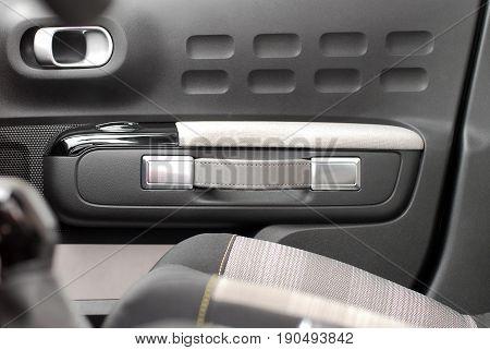 car door handles in modern passenger car