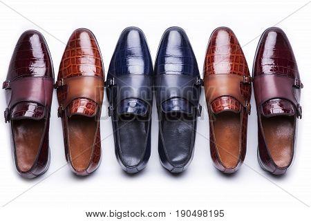 man fashion design shoes still life accessory