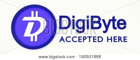 We Accept Digibyte.
