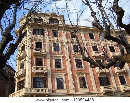 SALERNO : URBAN LANDSCAPE. CAMPANIA, SOUTH ITALY