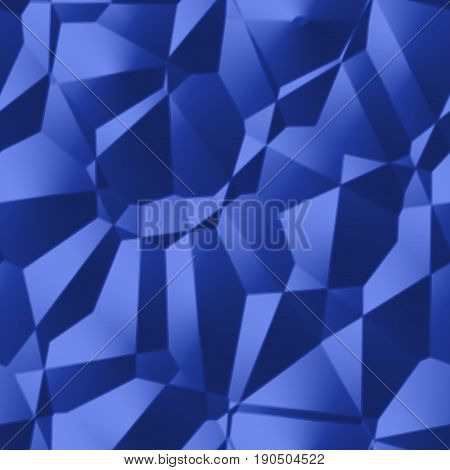 Abstract sci-fi plastic new age drapery blue 3d texture