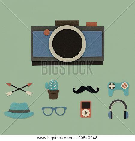 Camera Logo Modern Sign Trademark Copyright