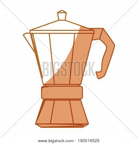 Coffee kettle isolated icon vector illustration graphic design