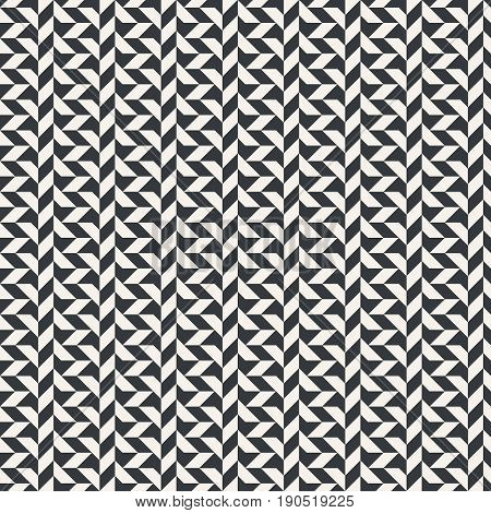 Vector seamless pattern. Modern continuously repeating texture with regular repetition of geometrical shapes. Contemporary design