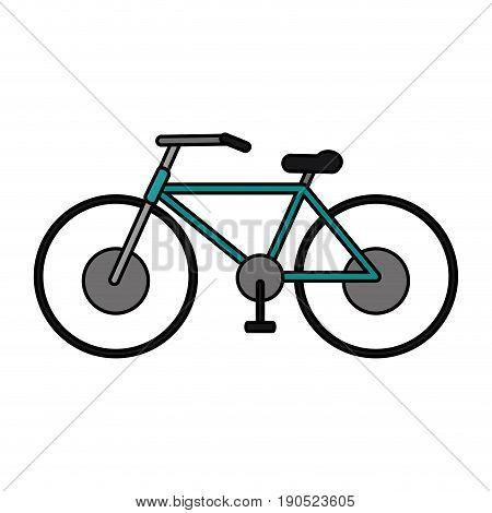 bycicle flat illustration icon vector design graphic