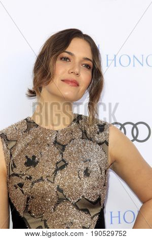 LOS ANGELES - JUN 8:  Mandy Moore at the 10th Annual Television Academy Honors at the Montage Hotel on June 8, 2017 in Beverly Hills, CA