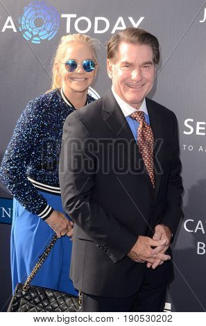 LOS ANGELES - JUN 8:  Guest, Steve Garvey at the Los Angeles Dodgers Foundations 3rd Annual Blue Diamond Gala at the Dodger Stadium on June 8, 2017 in Los Angeles, CA