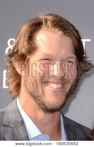 LOS ANGELES - JUN 8:  Clayton Kershaw at the Los Angeles Dodgers Foundations 3rd Annual Blue Diamond Gala at the Dodger Stadium on June 8, 2017 in Los Angeles, CA