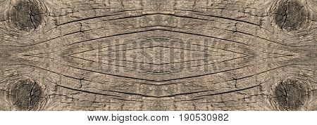 Slice of a wooden board of neutral color horizontal big size background