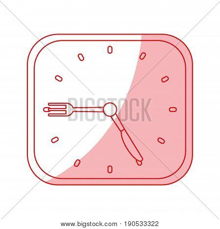 chronometer shadow illustration icon vector design graphic