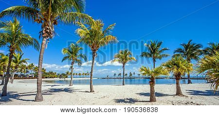 The Round Beach at Matheson Hammock County Park Miami Florida